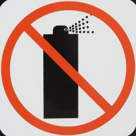 Spray interdit